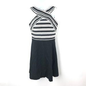 MAEVE ANTHROPOLOGIE Size 8 Fit Flare Dress Bandage